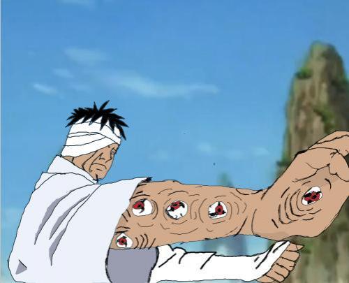 sasuke vs danzo my first naruto animation ever in development