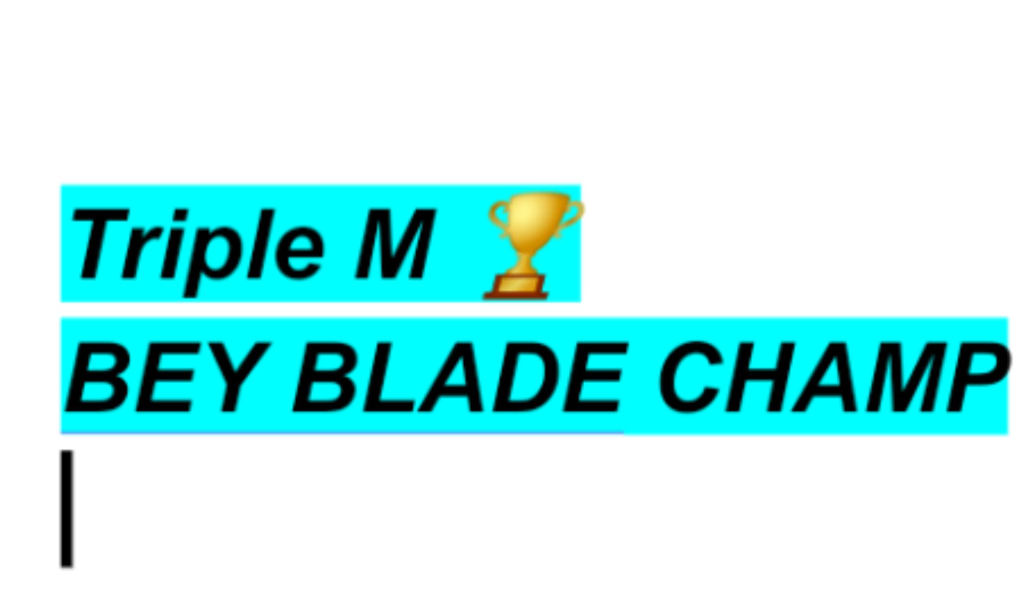 Triple M's avatar